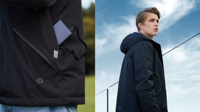 Meet Xiaomi's heated jacket with powerbank included!