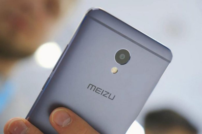 Meizu 15 Android smartphone