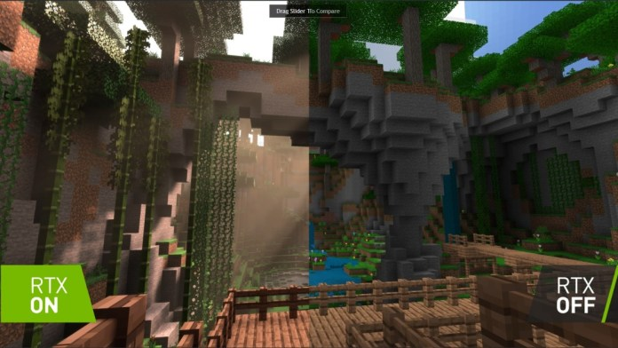 Minecraft to Win Spectacular Graphics with NVIDIA Ray-Tracing Technology