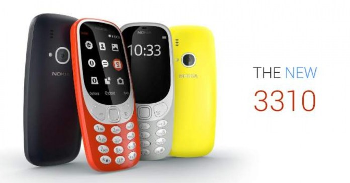 New Nokia 3310 will hit stores in Q2 2017