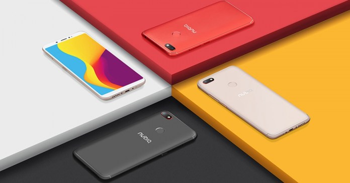 Nubia V18 is the new Android smartphone from Chinese ZTE