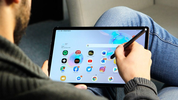 Samsung Galaxy Tab S6 4G: the full test