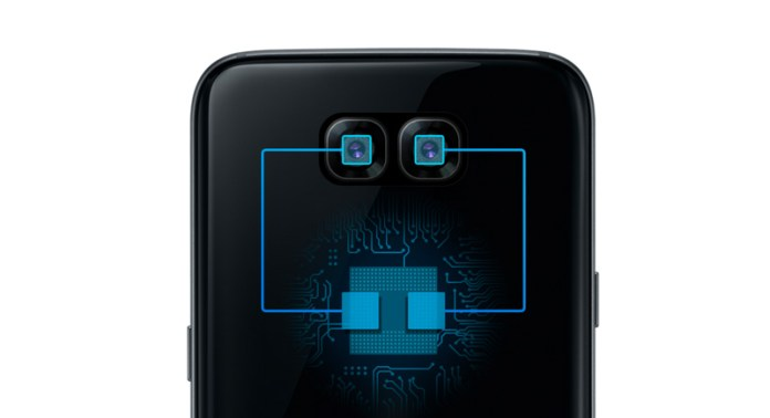 Image of two photo sensors on Exynos website