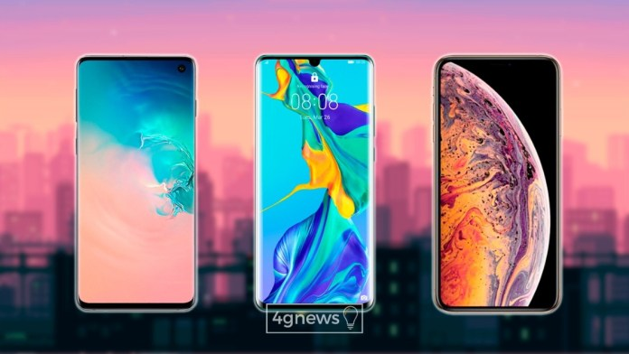 Samsung, Huawei and Apple continue to struggle for sales but the latter is losing out