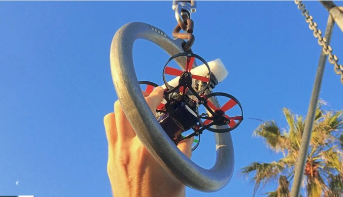 See the fantastic video made with this smaller drone than your smartphone