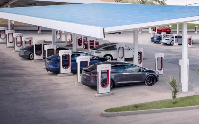 Tesla guarantees 120km in just 5 minutes with new Supercharger stations