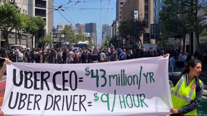 Uber and Lyft prepare legal battle against dissatisfied workers
