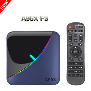 A95X F3 Slim Android9.0 Tv Box Amlogic S905X3 4GB 32GB 64GB 8K HD Media Player