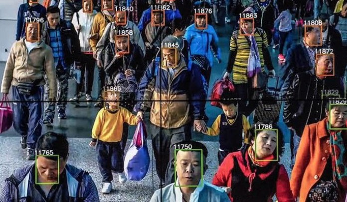 China smartphones, internet, scan face, scan face
