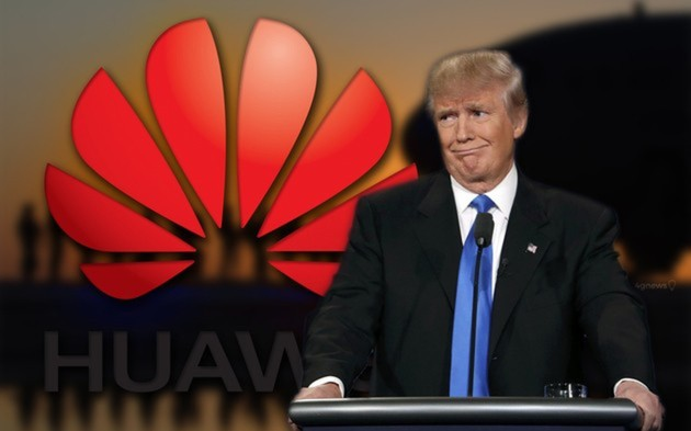 Huawei Donald Trump Android Google