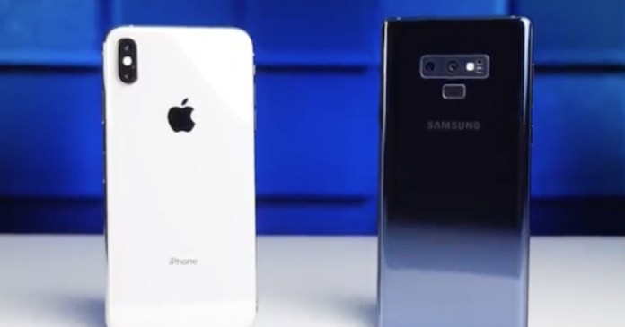 iPhone XS Max outpaces Samsung Galaxy Note 9