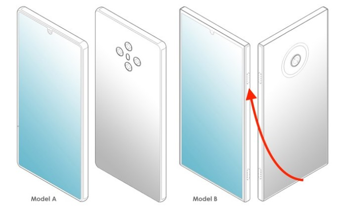 LG smartphones without button