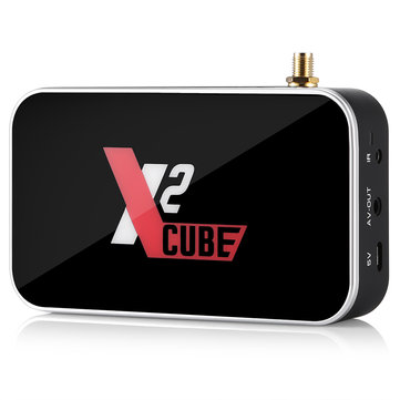 X2 Cube Amlogic S905X2 2GB DDR4 RAM 16GB ROM 1000M LAN 2.4G WIFI Android 9.0 4K USB3.0 TV Box for Ugoos TV Box
