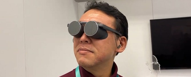 The new Panasonic VR glasses will make you a Futurama Bender, but at least you'll enjoy HDR