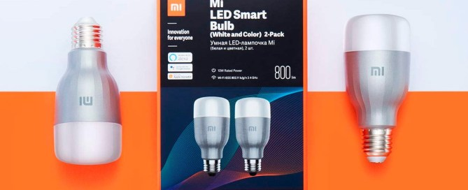 These are the best solutions of light bulbs and intelligent lights of Xiaomi