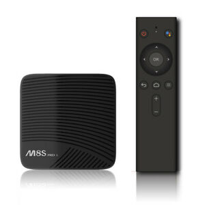 MECOOL M8S PRO L ATV Smart Android TV 7.1 TV Box w/ 2.4G BT Voice Remote G P7M1