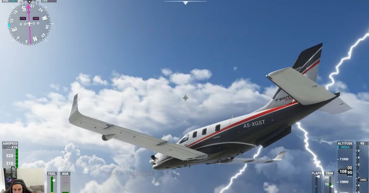 They filter a Microsoft Flight Simulator gameplay and it's ...