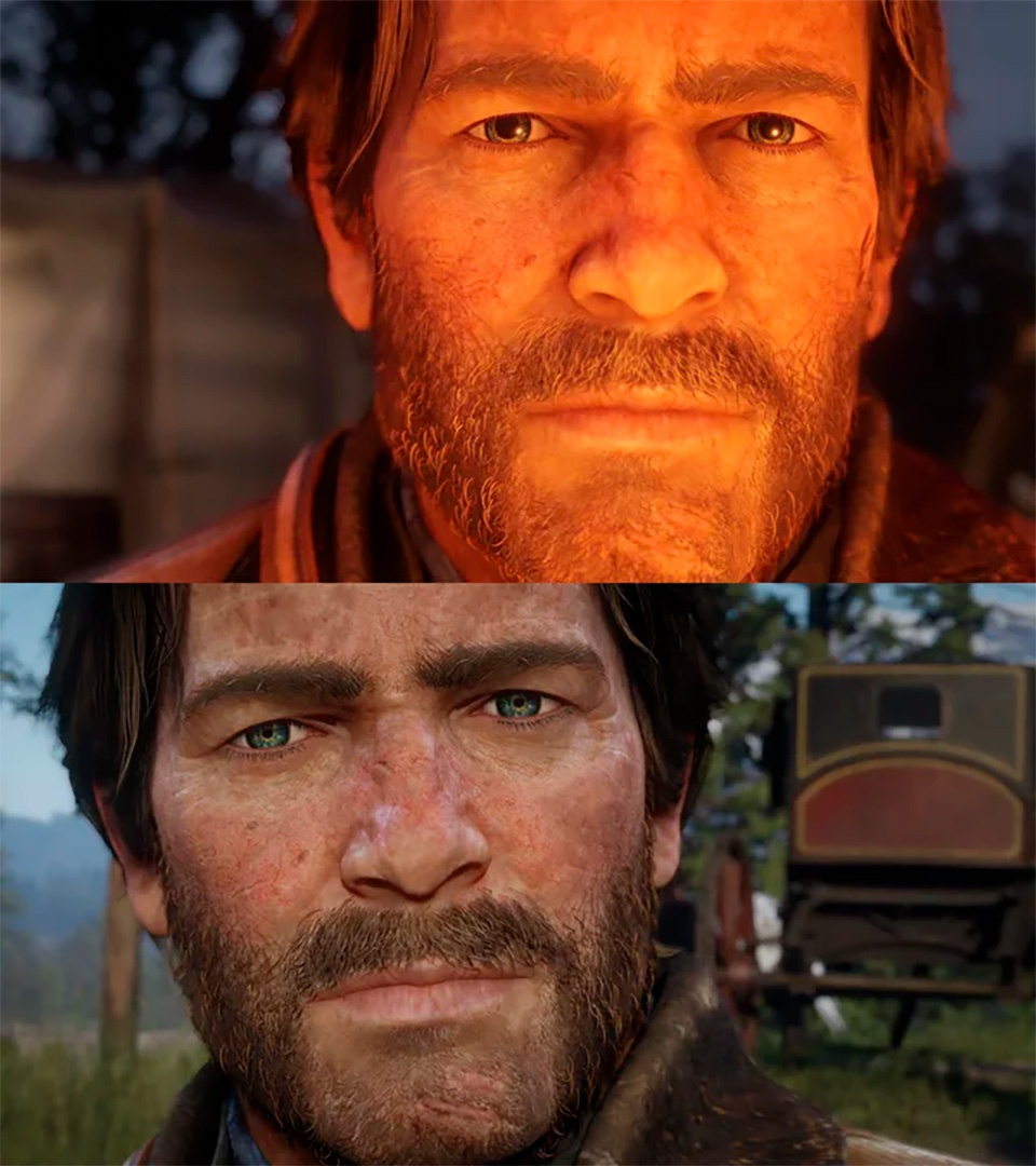 Red Dead Redemption 2 pupils