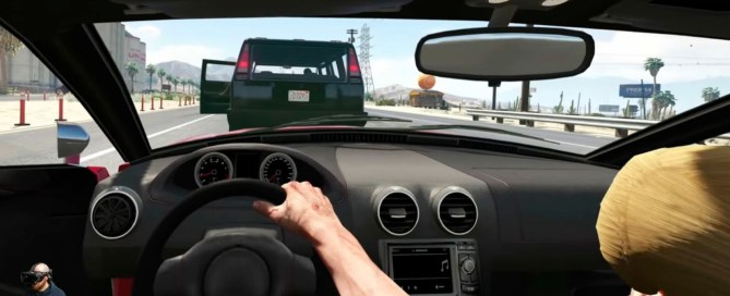 Live Los Santos from the inside with this mod of GTA V for virtual reality