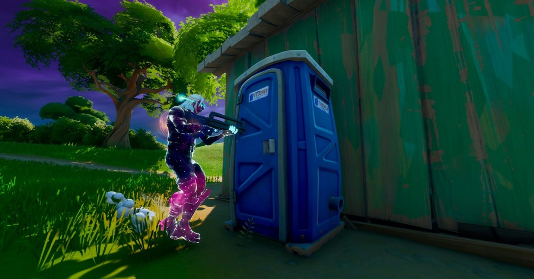 Fortnite WC teleportation