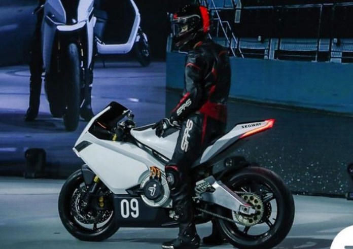 Xiaomi's electric motorcycle has an impressive speed and autonomy!
