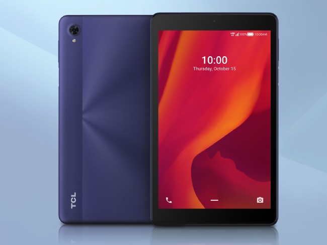 TCL 10 Tab Mid tablet in blue