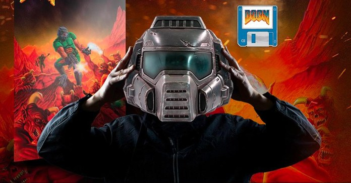 Only 20,000 people can own this DOOM Marine helmet