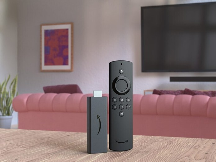 This is the Amazon Fire TV Stick Lite