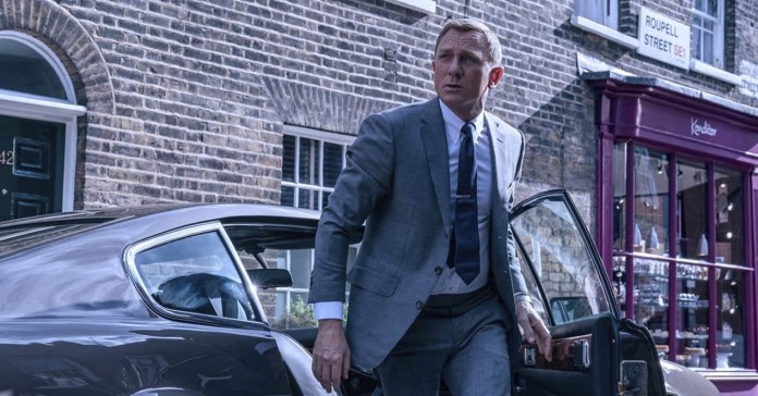 The latest James Bond on HBO or Netflix? It has come to pose