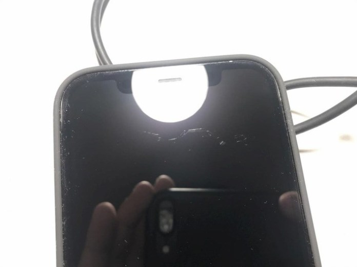 iPhone 12 scratches on the screen