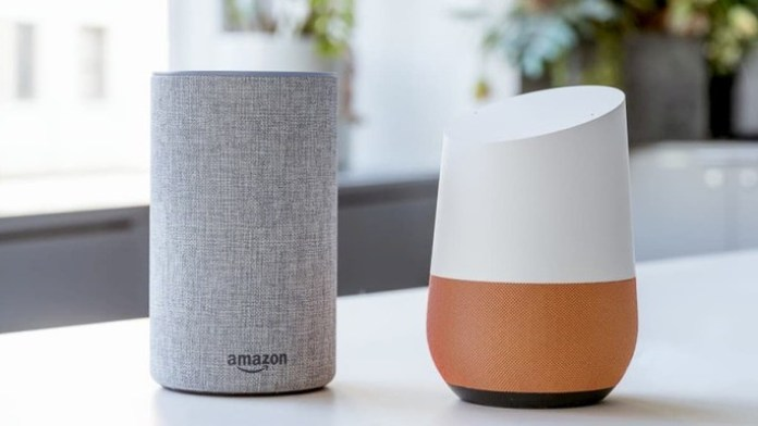 Google Home Echo amazon