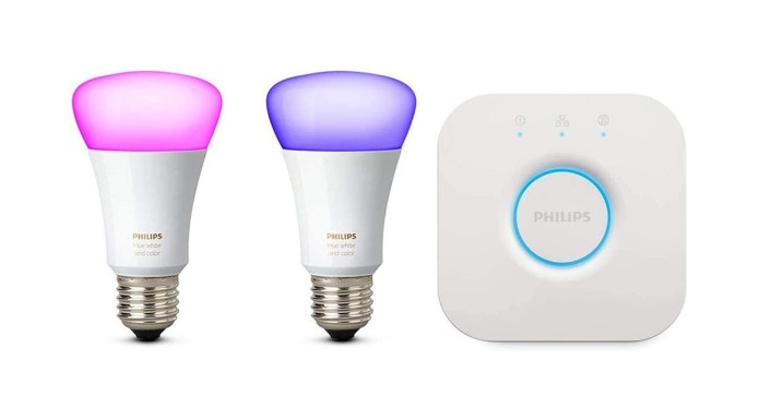 philips hue color with bridge