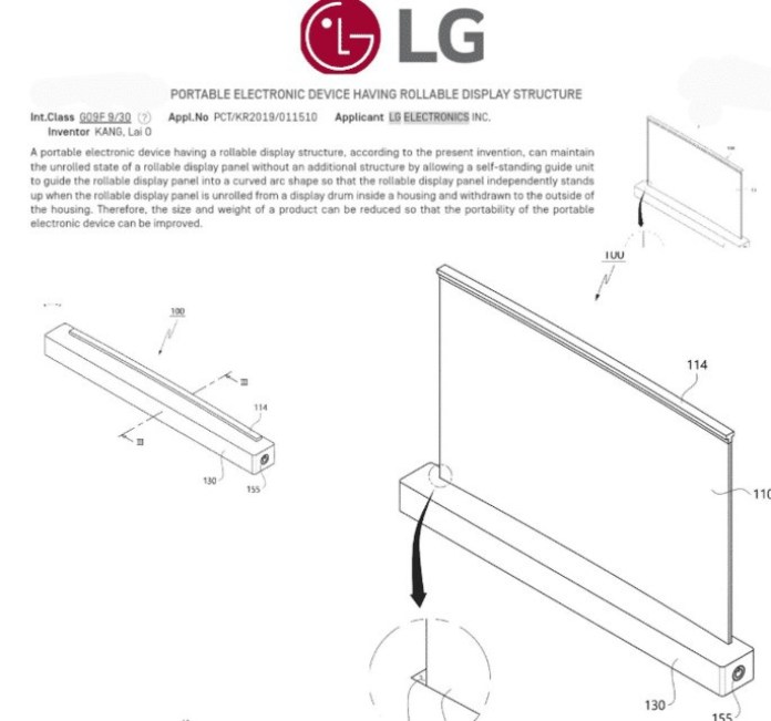 LG scrollable laptop computer
