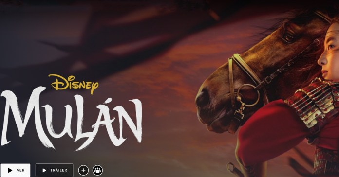 You can now see Mulan without paying more on Disney +
