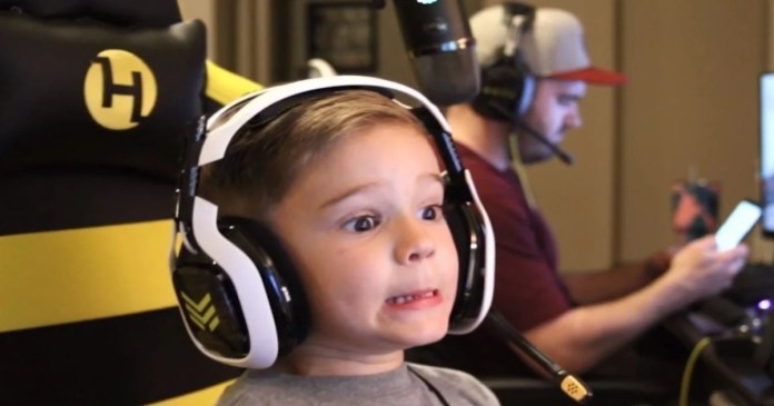 6-year-old streamer banned live on Twitch