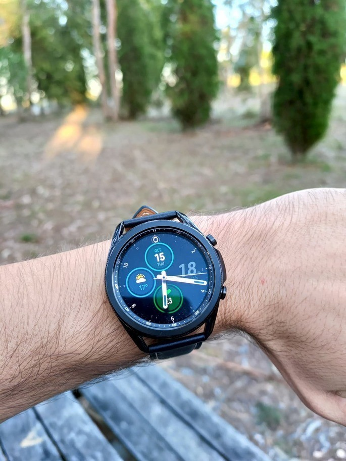 This is the Galaxy Watch 3, launched by Samsung in August 2020