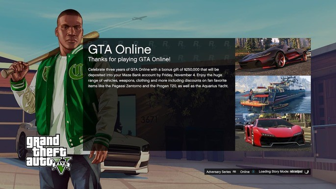 Loading times are a problem in GTA Online