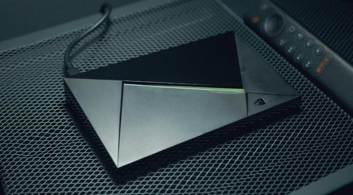NVIDIA Shield TV Pro top View