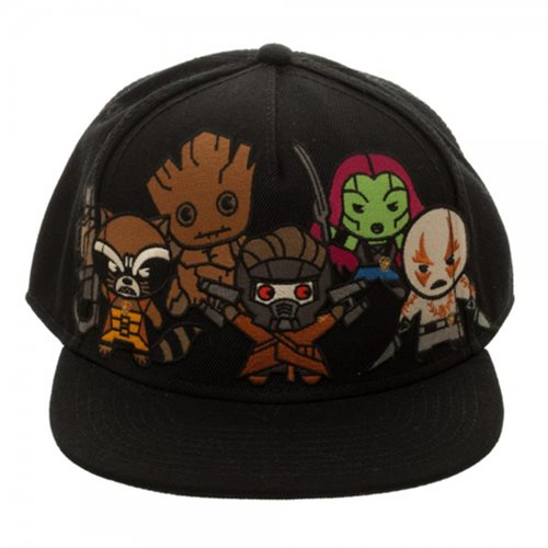 Guardians of the Galaxy Kawaii Snapback Hat