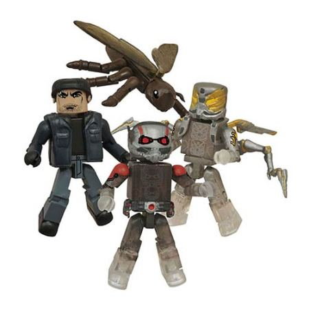 Marvel Ant-Man Minimates Box Set - SDCC 2015 Exclusive
