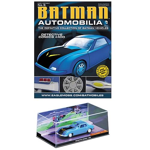 Batman Detective Comics #400 Batmobile with Magazine