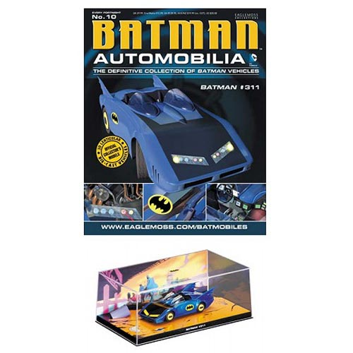 Batman #311 Batmobile with Collector Magazine