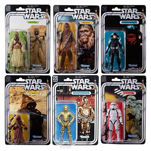 Star Wars Black Series 40th Anniv. 6-Inch Figures Wave 2