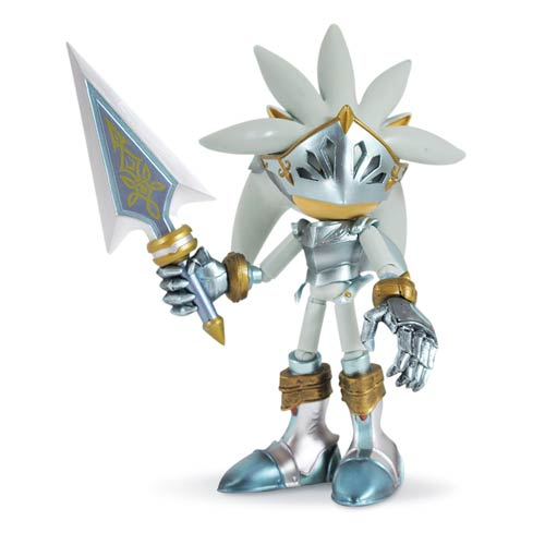Silver And The Black Knight Sonic Toy