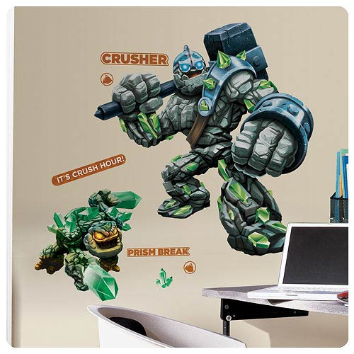 Skylanders Giants Crusher and Prism Break Giant Wall Decals
