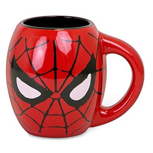 Spider-Man Red 18 oz. Ceramic Oval Mug