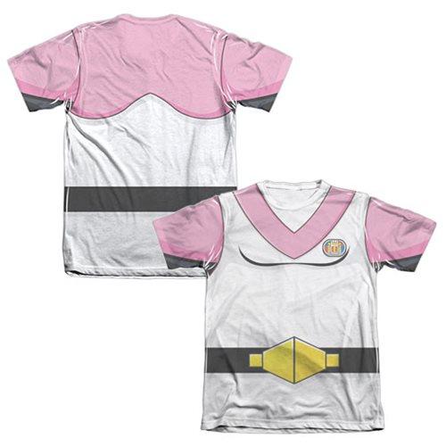 Voltron Pink Lion Pilot Allura Costume T-Shirt