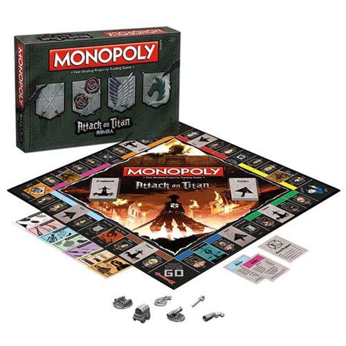 Attack on Titan Monopoly Game