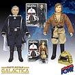 Battlestar Galactica Lt. Starbuck and Cdr. Adama Figures
