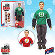 Big Bang Theory Sheldon Green Lantern T-Shirt 8-Inch Figure